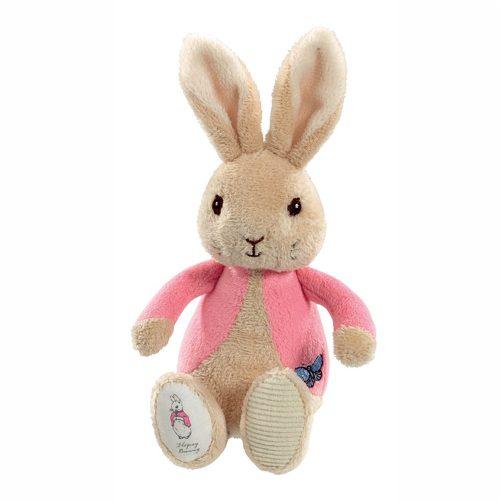 Flopsy Bunny Bean Rattle Toy - Beatrix Potter - Rainbow Designs