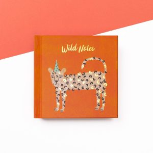 Leopard Wild Notes Mini Notebook, IMMB10 - Soul UK