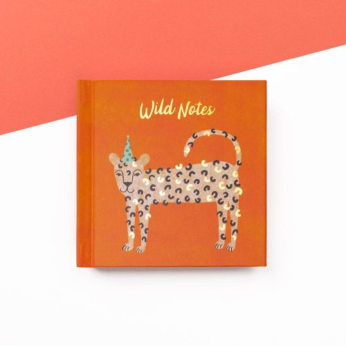 Leopard Wild Notes Mini Notebook, IMMB10 - Soul UK