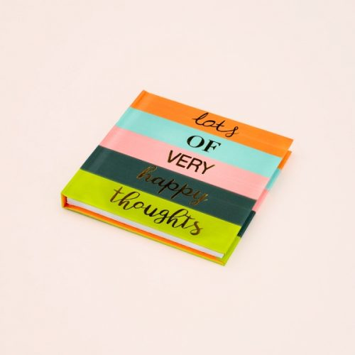 'Lots of Very Happy Thoughts' Mini Notebook, IMMB02 - Soul UK