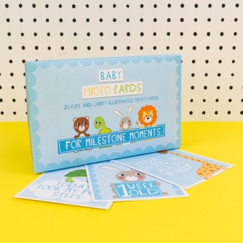 Blue Baby Boy Milestone Cards - TICKG15 - Tickle Collection - Really Good