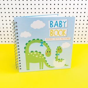 Blue Baby Boy Memories Book for Photos and Milestones - TICKBB01 - Tickle Collection - Really Good
