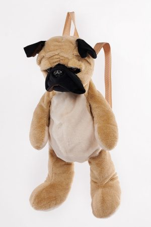 Pug Dog Backpack - Langs