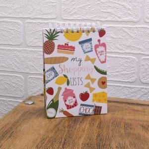 My Shopping Lists Notebook, IMNB04 - Soul UK