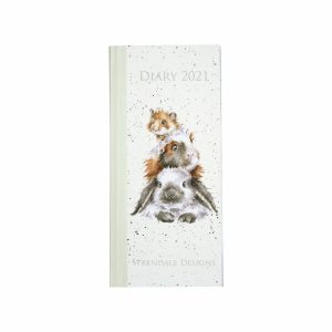 2021 Slim Hardback Diary - Wrendale Designs