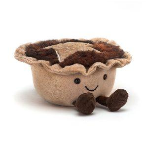 Jellycat Amuseable Mince Pie, 8 x 13 cm
