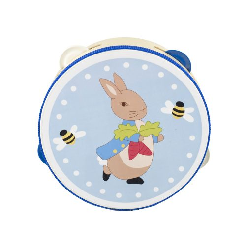 Peter Rabbit Wooden Tambourine - Orange Tree Toys