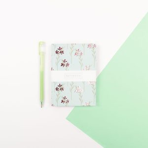 A6 Floral Notebook - Wendy Jones Blackett, WJNBM03
