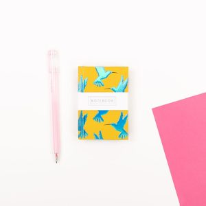 Mini Hummingbird Notebook - Wendy Jones Blackett, WJNBS02