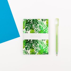 A6 Botanical Notebook - Wendy Jones Blackett, WJNBM01