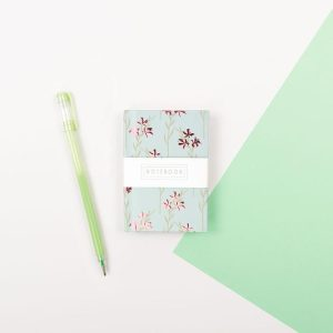 Mini Floral Notebook - Wendy Jones Blackett, WJNBS03