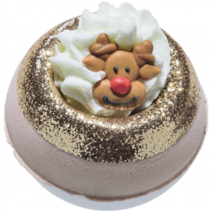 'Deer Me' Rudolph The Reindeer Bath Bomb, 160g - Bomb Cosmetics