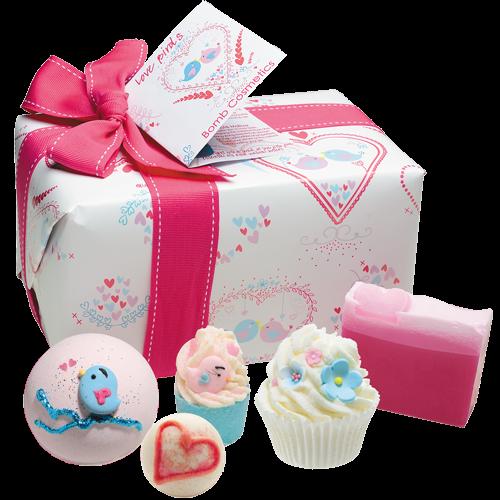 'Love Birds' Bath Gift Pack - Bomb Cosmetics