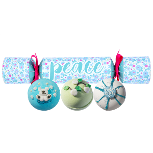 PEACE Christmas Cracker Bath Bomb Gift Pack - Bomb Cosmetics