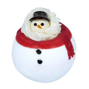 'Having a Meltdown' Snowman Bath Bomb, 160g - Bomb Cosmetics