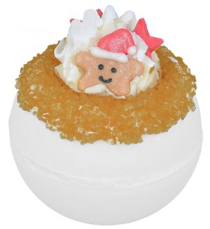 'Twinkle Star' Christmas Bath Bomb, 160g - Bomb Cosmetics