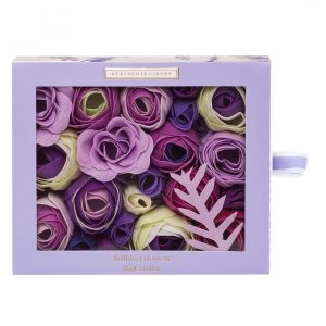 Heathcote and Ivory - Lavender Fields Bathing Flowers in Sliding Gift Box