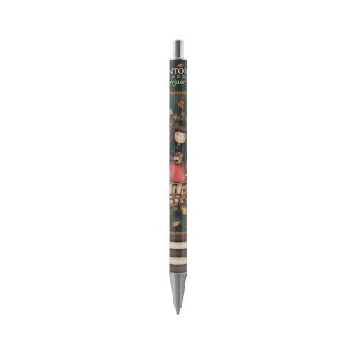 Santoro Gorjuss Ballpoint Click Pen - Autumn Leaves