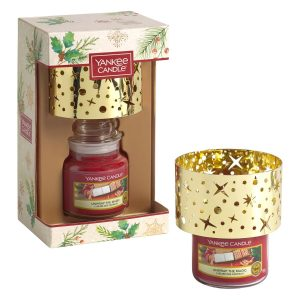Yankee Candle Small Jar Candle & Small Shade Gift Set - Magical Christmas Morning