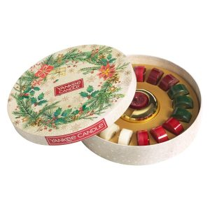 Yankee Candle 18 Tea Light Candle Delight Gift Set - Magical Christmas Morning