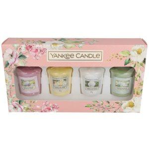 Yankee Candle 4 Votive Gift Set - Garden Hideaway