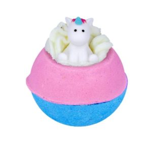 'Born To Be A Unicorn' Bath Bomb with Unicorn Toy, 160g - Bomb Cosmetics