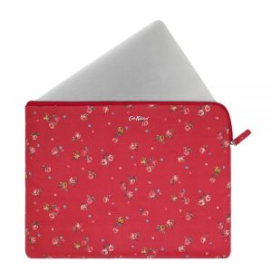 Cath Kidston Wimbourne Ditsy Rose Red 13 Inch Laptop Sleeve