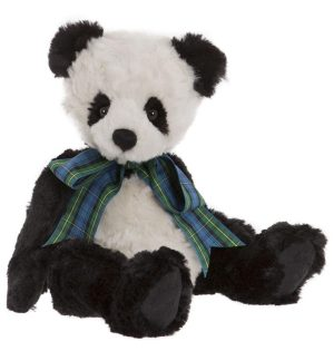 Bobble Panda Bear, 25 cm – Charlie Bears Plush CB185181