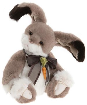 Carrot Top Bunny Rabbit, 35.5 cm – Charlie Bears Plush CB202045A
