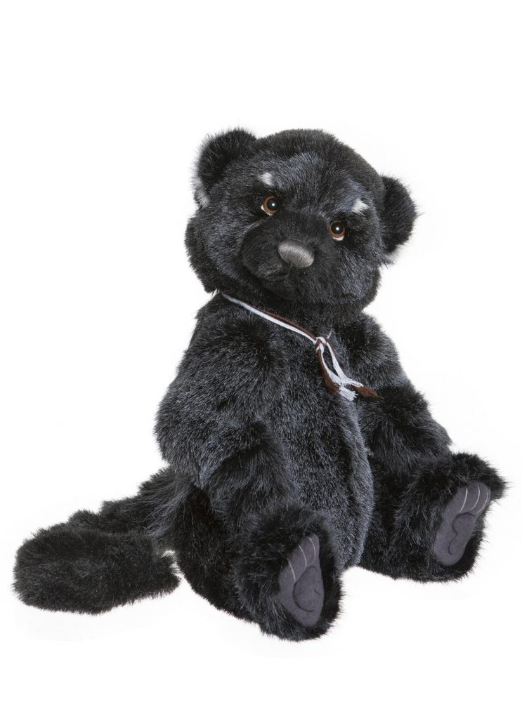 Rea the Binturong Bearcat, 42 cm – Charlie Bears Plush CB202074