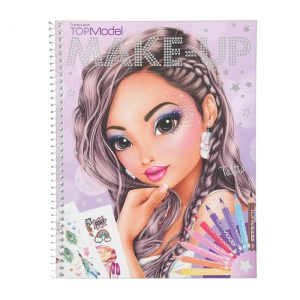Create Your Top Model Makeup Colouring Book 10728 - Depesche