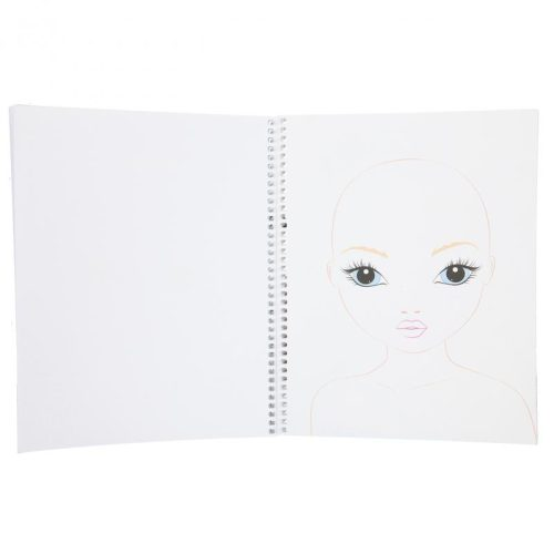 Create Your Top Model Makeup Colouring Book 10728 - Depesche