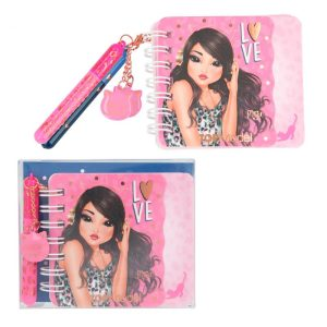 Top Model Mini Notebook and Pen Set - Love