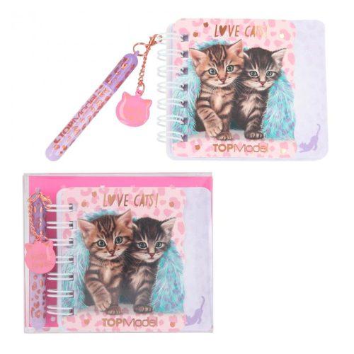 Top Model Mini Notebook and Pen Set - Love Cats - 11327 LEO LOVE - Depesche