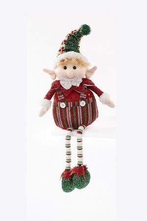 Langs Overshelf Elf on a Shelf with Dangly Legs - 43 x 23 x 8 cm
