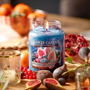 Mulberry and Fig Delight - Yankee Candle - Large Jar, 623g