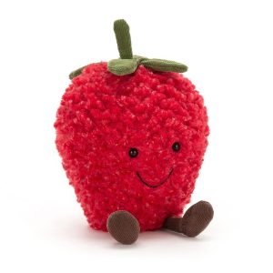 Jellycat Amuseable Strawberry, Small, 20cm