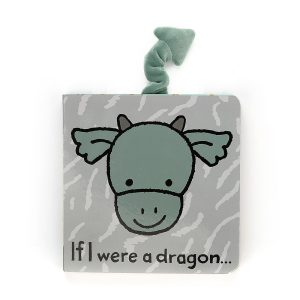 If I Were A Dragon Board Book - Jellycat