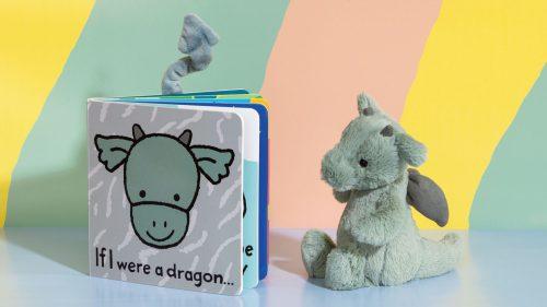 If I Were A Dragon Board Book - Jellycat