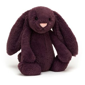 Jellycat Bashful Plum Bunny - Medium 31 x 13 cm