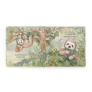 Sloth 'My World' Story Book - Jellycat