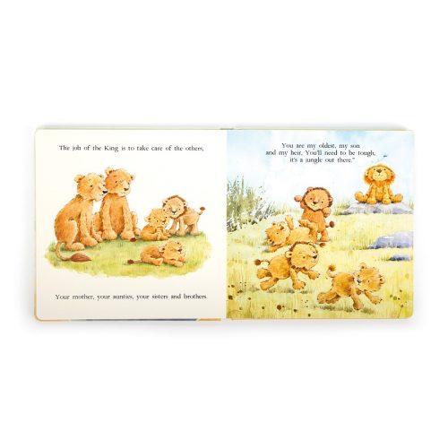 'The Very Brave Lion' Story Book - Jellycat