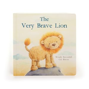 'The Very Brave Lion' Story Book - Jellycat