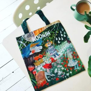 The Moomins Dangerous Journey Foldable Shopper Bag - Disaster Designs