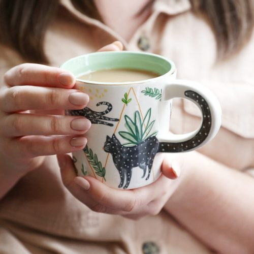 Feline Cat Cup with Gift Box - Disaster Designs