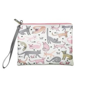 Over The Moon Cat Pouch Bag with Strap - Disaster Designs