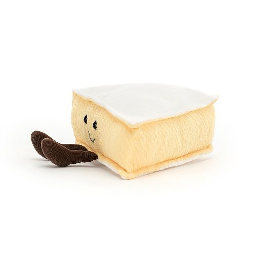 Jellycat Amuseable Brie Cheese, 9x22 cm