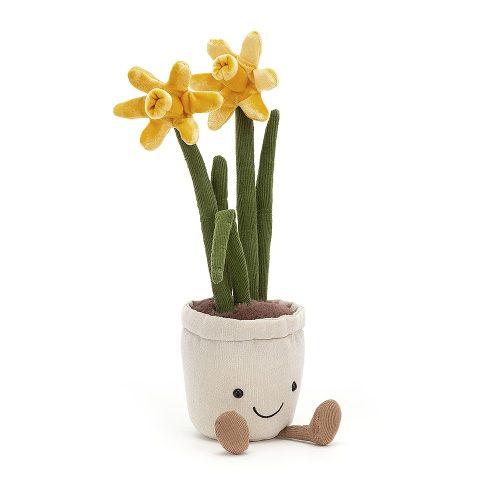 Jellycat Amuseable Daffodil, 30 x 7 cm
