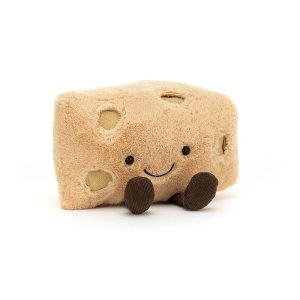 Jellycat Amuseable Swiss Cheese, 13x16 cm