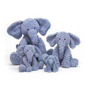 Jellycat Fuddlewuddle Elephant - Tiny 12 cm